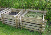 Компостная куча своими руками для удобрения почвы