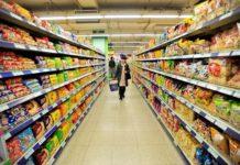 Торговые сети России начали запасаться продуктами