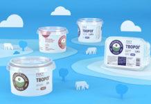 В агентстве Up Brands создали новый бренд молочной продукции «Родниковое поле»