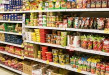 Производство пищевой продукции в России с начала года выросло почти на 10%
