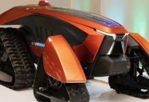 Японцы показали беспилотный электрический трактор
