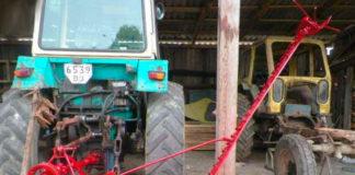 Косилка сегментного типа для трактора