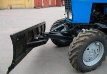 Самодельный отвал для трактора МТЗ-82