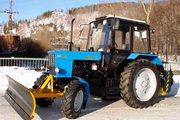 Отвал коммунального типа для трактора МТЗ