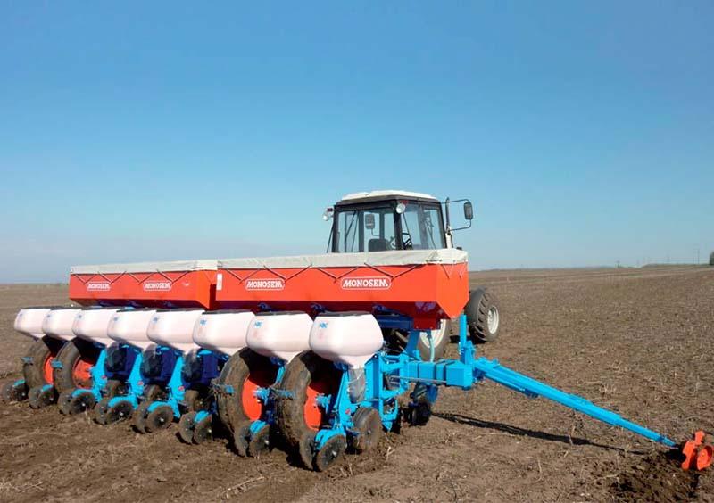 Сеялка Monosem NX с практически нулевой подготовкой почвы