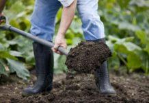 Как копать грядки
