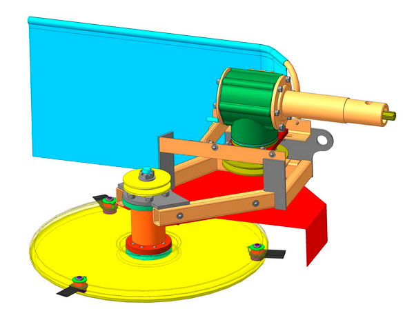 Косилка роторного типа КРМ-1