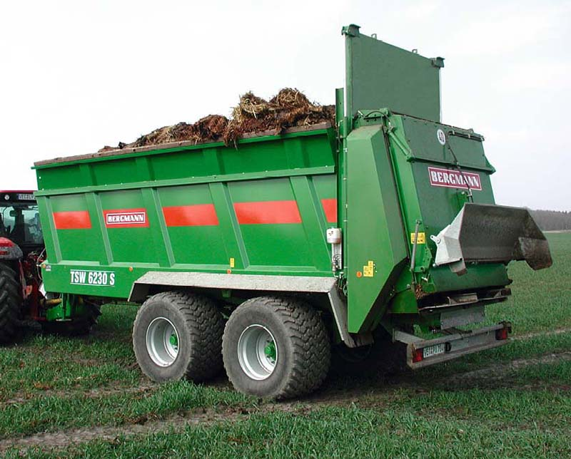 Photo of Сельхозтехника Bergmann: разбрасыватели удобрений, силосовозы