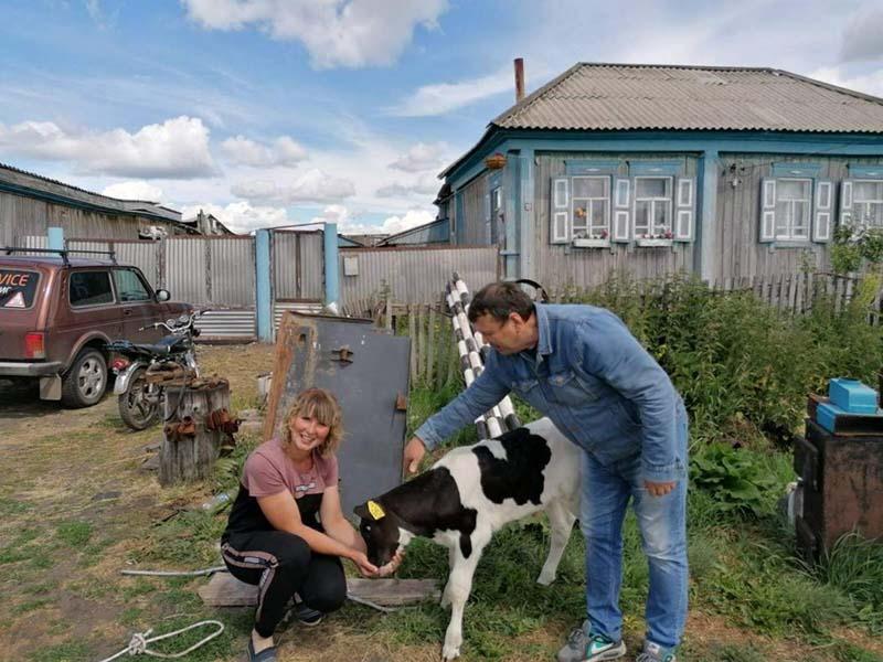 Жительница Ишимского района выиграла бычка за лучший вопрос о сельском хозяйстве