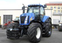Трактор New Holland T8040: технические характеристики Модель Т8040 выпускалась в 2006-2011 годах. Сегодня на смену линейке Т8000 пришла новая Т9000. Несмотря на наличие более совершенных с технической точки зрения машин, трактор New Holland Т8040 остается востребованным в сельском хозяйстве. К отличительным особенностям техники относятся внушительные габариты и повышенная маневренность, удобство использования и надежность, эргономичный дизайн и высокая мощность.