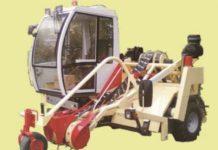 Оборачиватель лент льна самоходный ОЛЛ-1