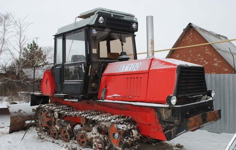 Трактор ВТ-100 технические характеристики-1024x653