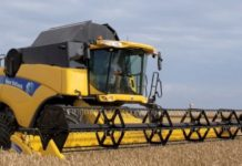 Зерноуборочный комбайн New Holland большого класса CR9000 Elevation CR9060 CR9070 CR9080 CR9090