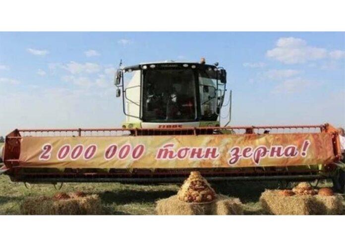 Аграрии Ульяновской области впервые за последние 47 лет собрали 2 млн тонн зерна