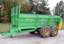 Машина для внесения твердых органических удобрений МТТ-9