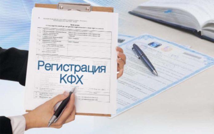 Самостоятельная регистрация кфх