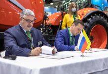 Квернеланд Груп СНГ и Росагролизинг подписали новое соглашение на «Агросалон-2020»