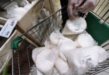 Россия снизила производство продуктов питания