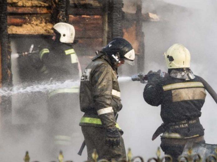 Омский фермер лишился имущества в результате пожара