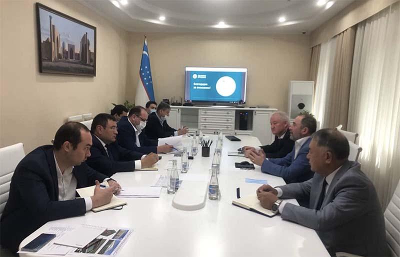 Директор департамента продаж АО «Щёлково Агрохим» Реваз Кавтарадзе побывал с четырехдневным визитом в Республике Узбекистан