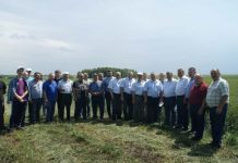 Аграрии Оренбургской области во время совещания