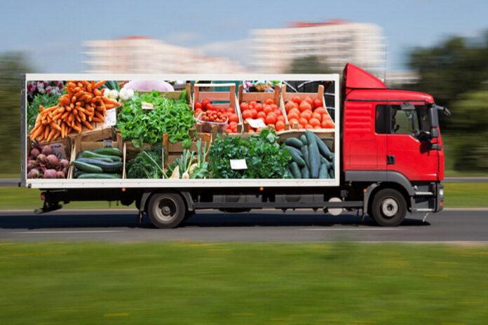 В России резко взлетели цены на перевозку продуктов